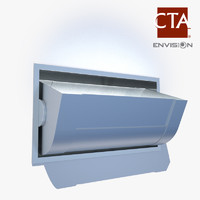 3d model commercial wall sconce