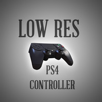Low Res Playstation 4 Controller