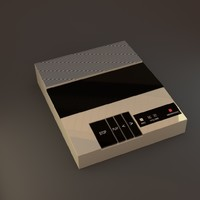 answering machine 3D models