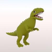 toy t-rex 3d lwo