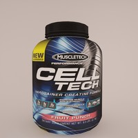 3d cell-tech muscletech model