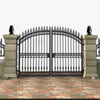 Wrought Iron Gate 19