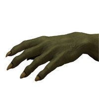 free orc hand 3d model