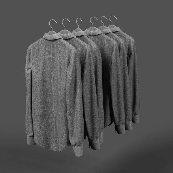 3d shirts model - Shirts... by FRIz3D