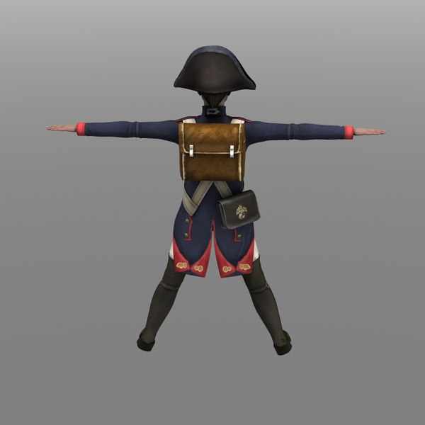 infantry fusilier french 3d model - French Infantry Fusilier... by arshambo