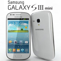 realistic samsung galaxy siii 3d 3ds
