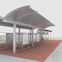 Light Rail Station