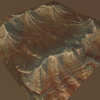 mountain terrain 3d max