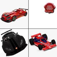 maya racing cars 3