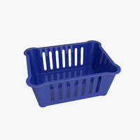 3d model basket plastic
