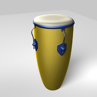 bongo band 3d model