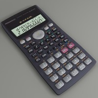 3d scientific calculator fx-570