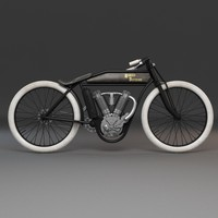 old harley davidson 3d model
