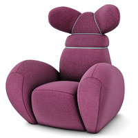 creative bunny chair 3d 3ds