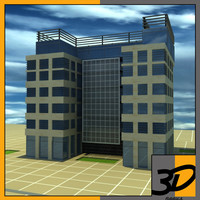 design office building 3d 3ds