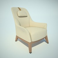 3ds normal giorgetti chair