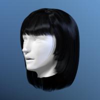 Woman Hair 03