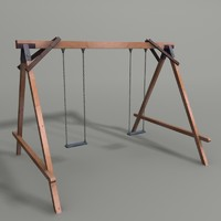 swing ground 3d model
