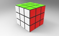 rubik s magic 3d model
