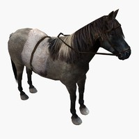 3ds max ponies saddles