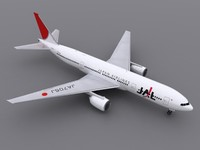 777-200 - JAL
