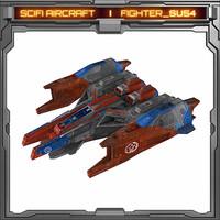 3d model scifi