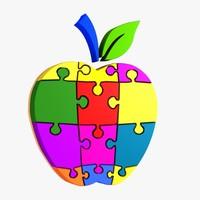 3d apple puzzle