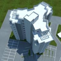 3dsmax buildings 1 7
