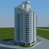 3d model of buildings 2 1