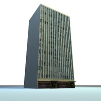 3d english urban building model