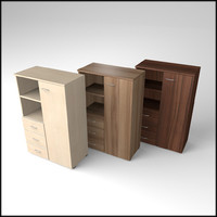 veneered commode 3ds