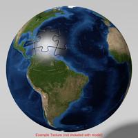 3d model puzzle ball
