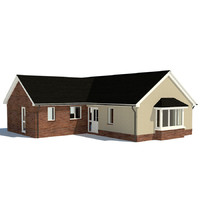3d obj house home