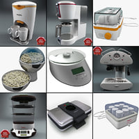 Kitchen Appliances Collection V4