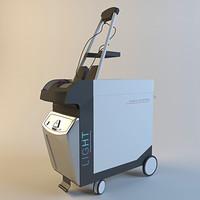 laser quanta 3d model