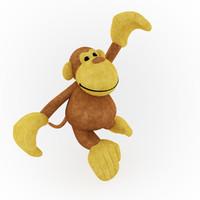 monkey 3d model