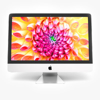 new apple imac 3d model