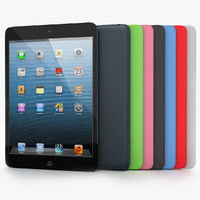 Apple iPad Mini Black with smart covers