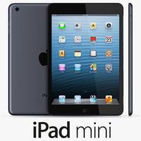 3d ipad mini model