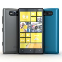 Nokia Lumia 820 Blue, Black and Gray