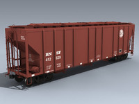 PS2CD 4427 Covered Hopper (BNSF)