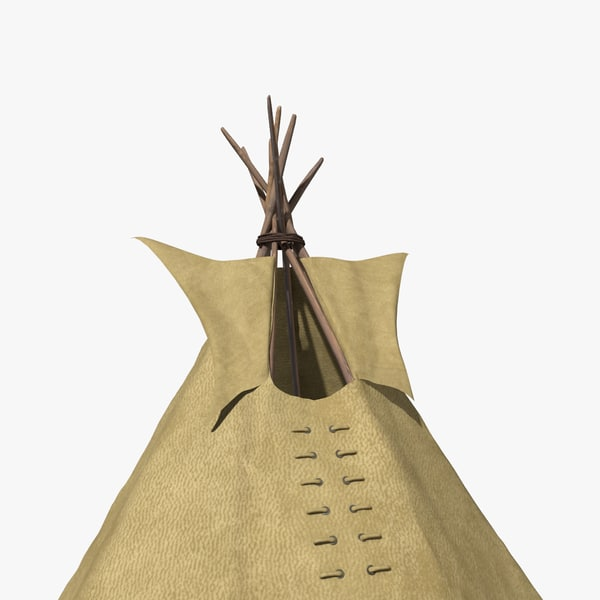 how to build a model teepee