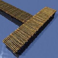 maya rustic wooden pier