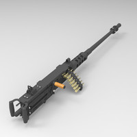 Browning Machine Gun Cal.50 M2HB Flexible