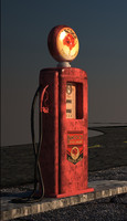 hancock point gasoline 3d model