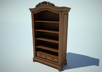 Case Cabinet wood 02