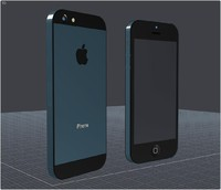 cad apple iphone 5 3d 3ds