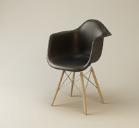 max eames plastic chair