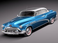 3ds max buick roadmaster riviera luxury