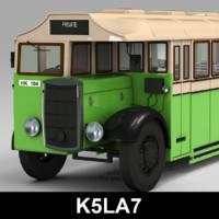 k5la7 bus 3d max